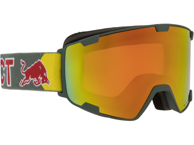 Red Bull SPECT Park Lunettes de protection, olive green/red snow
